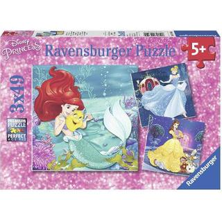 Ravensburger The Adventures of the Princesses 3x49 Pieces