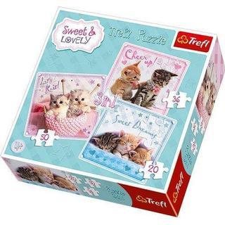Trefl Sweet Kittens 3 in 1