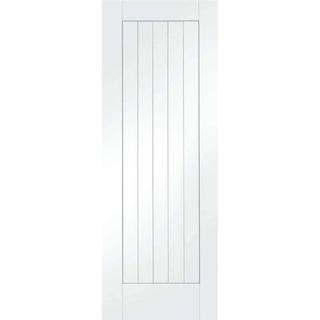 XL Joinery Suffolk Primed Interior Door (53.3x198.1cm)