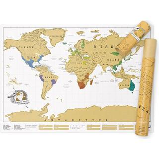 Luckies of London Scratch Map Original 58,2x81.9cm