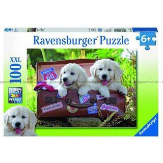 Ravensburger Traveling Pups XXL 100 Pieces