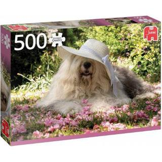 Jumbo Sophie in a Flower Bed 500 Pieces