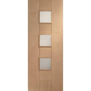 XL Joinery Messina Pre-Finished Interior Door Clear Glass (76.2x198.1cm)