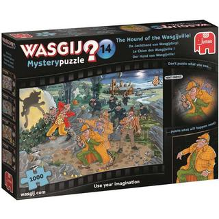 Jumbo Wasgij Mystery 14: The Hound of the Wasgijville! 1000 Pieces