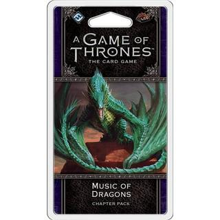 Fantasy Flight Games A Game of Thrones: The Card Game (Second Edition) Music of Dragons