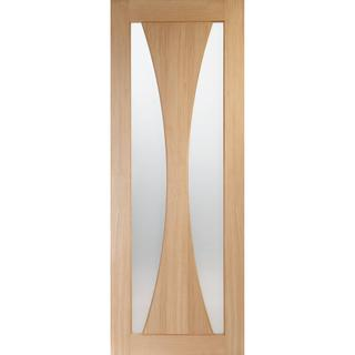 XL Joinery Verona Pre-Finished Interior Door Clear Glass (76.2x198.1cm)