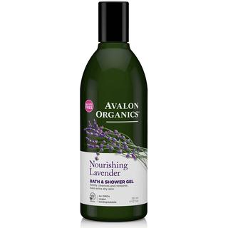 Avalon Organics Nourishing Bath & Shower Gel Lavender 355ml