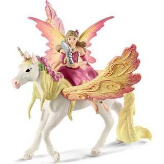 Schleich Fairy Feya with Pegasus Unicorn 70568
