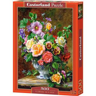 Castorland Flowers in a Vase 500 Pieces