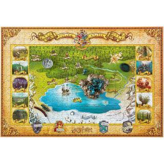 Harry Potter Hogwarts 4D Puzzle 543 Pieces