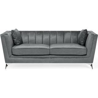 Beliani Gaula 77cm Sofa 3 Seater
