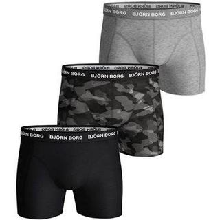 Björn Borg Shadeline Essential Shorts 3-pack - Black Beauty