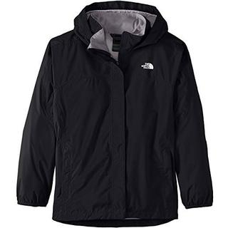 The North Face Girl's Resolve Reflective Jacket - Black
