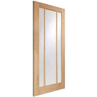 XL Joinery Worcester 3 Light Fire Interior Door Clear Glass (83.8x198.1cm)