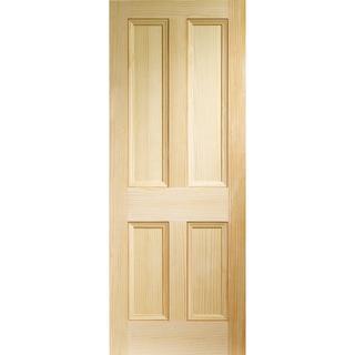 XL Joinery Edwardian 4 Panel Interior Door (61x198.1cm)