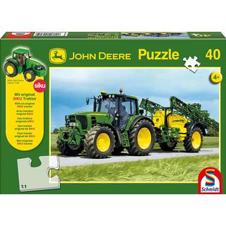 Schmidt John Deere : Tractor with Sprayer 40 Pieces