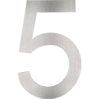 tectake House numbers made of stainless steels 5