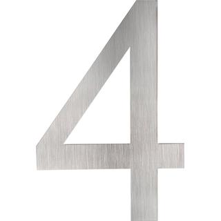 tectake House numbers made of stainless steels 4