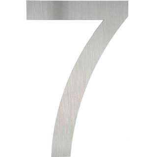 tectake House numbers made of stainless steels 7
