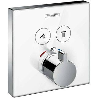 Hansgrohe ShowerSelect Glass (15738400) Chrome, White