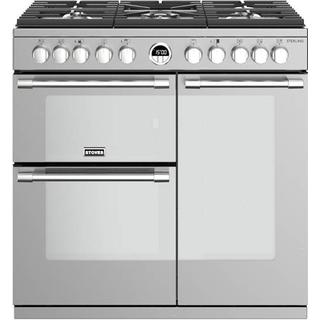 Stoves Sterling S900DF Stainless Steel
