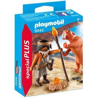 Playmobil Caveman with Sabertooth Tiger 9442
