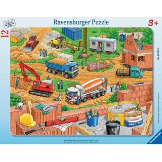 Ravensburger Work on the Construction Site 12 Pieces