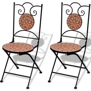 vidaXL 41529 2-pack Armless Chair