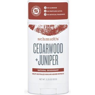 Schmidt's Cedarwood + Juniper Deo Stick 92g