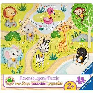 Ravensburger In the Zoo 8 Pieces