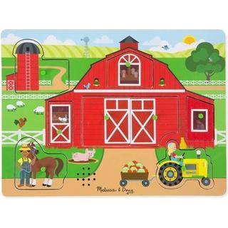 Melissa & Doug The Farm Sound Puzzle 8 Pieces