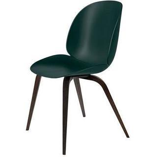 GUBI Beetle Wood Base Kitchen Chair