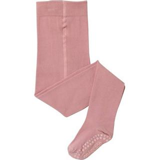 Go Baby Go Non Slip Crawling Tights - Dusty Pink
