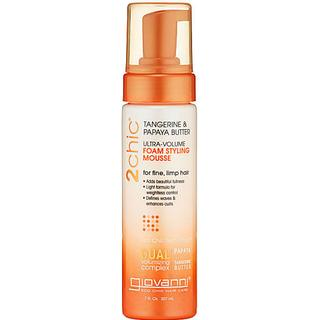 Giovanni 2Chic Ultra-Volume Foam Styling Mousse 207ml