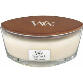 Woodwick Island Coconut Ellipse Scented Candles