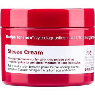 Recipe for Men Steeze Cream Wax 80ml