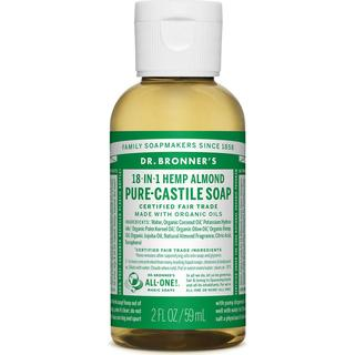 Dr. Bronners Pure-Castile Liquid Soap Almond 60ml