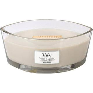 Woodwick Wood Smoke Ellipse Scented Candles