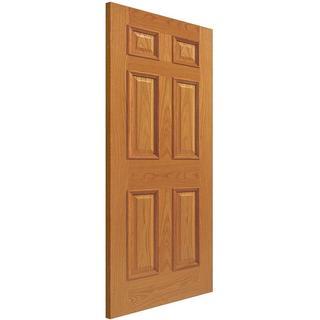 JB Kind Royale E16M Oak Unfinished Interior Door (83.8x198.1cm)