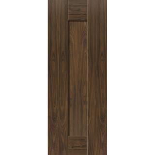 JB Kind Axis Walnut Pre-finished Interior Door (76.2x198.1cm)