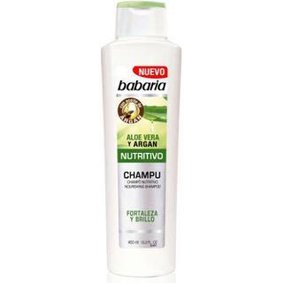 Babaria Nourishing Shampoo Aloe Vera & Argan Oil 400ml