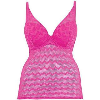 Curvy Kate Hi Voltage Tankini Top - Pink