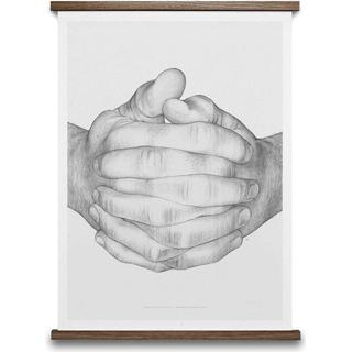 Paper Collective Folded Hands 50x70cm Posters