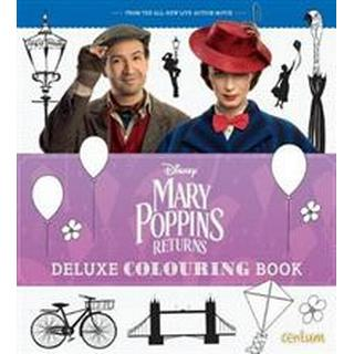 Mary Poppins Returns Deluxe Colouring Book (Paperback, 2018)