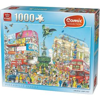 King Comic Collection Piccadilly Circus 1000 Pieces