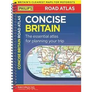 Philip's Concise Atlas Britain (Paperback, 2019)