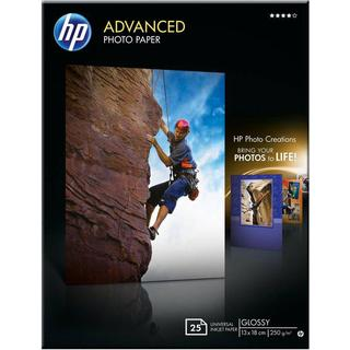 HP Advanced Glossy 250g 13x18cm 25