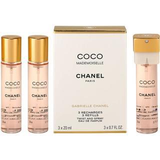 Chanel Coco Mademoiselle Twist & Spray EdP 3x20ml Refills