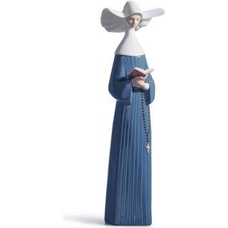 Lladro Prayerful Moment Nun Figurine