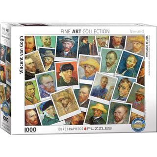 Eurographics Van Gogh Selfies 1000 Pieces